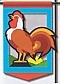 Rooster Mini Banner