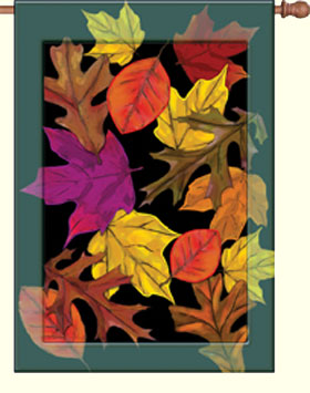 Autumn Splendor Decorative House Flag