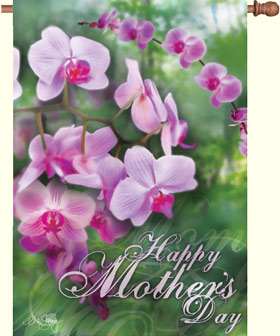 Mothers Day Decorative Flag