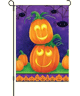 Playful Pumpkins Garden Flag
