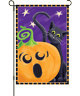 Halloween Surprise Garden Flag