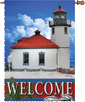 Pacific Northwest Lighthouse House Flag