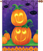 Playful Pumpkins House Flag
