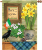 Irish Blessing Decorative Flag